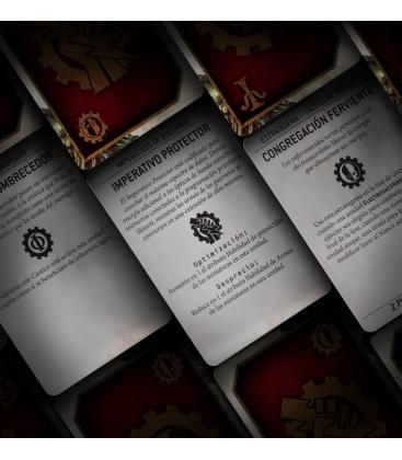 Warhammer 40,000: Adeptus Mechanicus (Tarjetas de Datos)