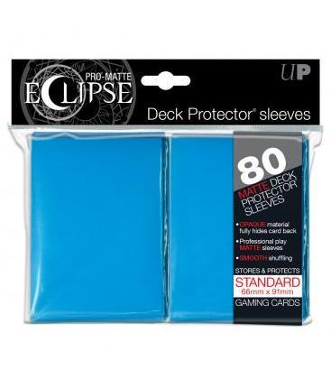 Fundas Ultra Pro: PRO-Matte Eclipse Light Blue Standard (80)