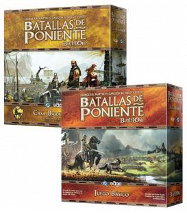 Pack Batallas de Poniente (Core Set + Casa Baratheon)