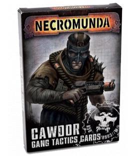 Necromunda: Cawdor Gang Tactics Cards (Inglés)