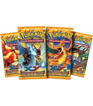 Pokémon: XY Destellos de Fuego (Sobre)