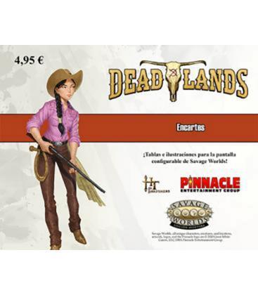 Savage Worlds: Deadlands - El Extraño Oeste (Encartes)