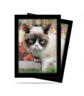 Fundas Ilustradas Ultra Pro: Grumpy Cat Flowers (50)
