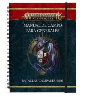 Warhammer Age of Sigmar: Manual de campo para generales (Batallas campales 2021 y perfiles de batallas campales)