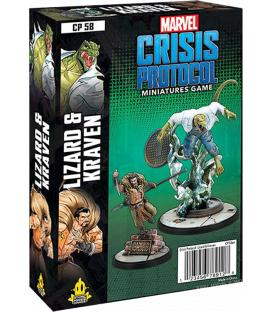 Marvel Crisis Protocol: Lizard & Kraven (Inglés)