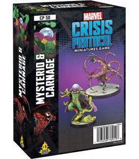 Marvel Crisis Protocol: Carnage & Mysterio (Inglés)
