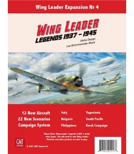 Wing Leader: Expansion 4 - Legends 1937-1945 (Inglés)