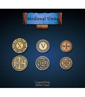 Legendary Metal Coins: Medieval Units (24)