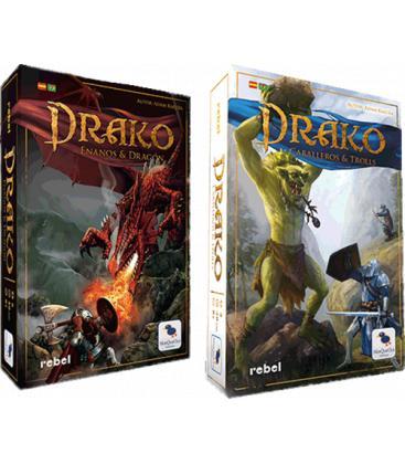 Pack Drako: Drako 1 + Drako 2 + Losetas Promo