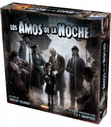 Los Amos de la Noche: Edición Premium (+ Expansión Dark City)