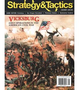Strategy & Tactics 328: Vicksburg - The Assault On Stockade Redan, May 1863