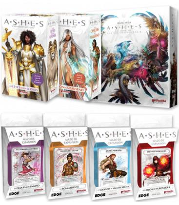 Pack Ashes (Envío aproximado el 29/07)