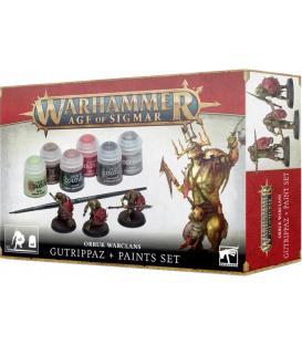 Warhammer Age of Sigmar: Set de Pinturas + Orruk Warclans (Gutrippaz)