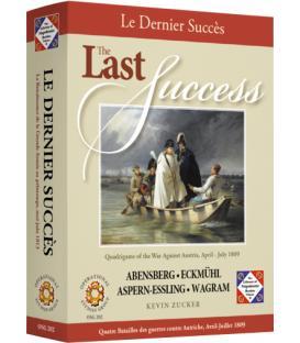 The Last Success: Quadrigame of the War Against Austria, April-July 1809 (Inglés)