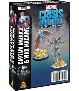 Marvel Crisis Protocol: Captain America & War Machine (Inglés)