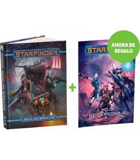 Starfinder: Pack Libro Básico + Hoja de Personaje
