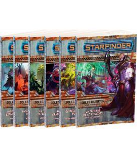 Starfinder: Soles Muertos (Pack de 6 Libros)