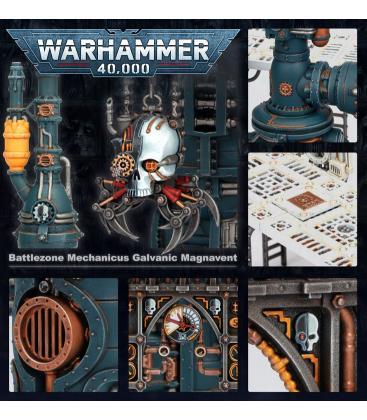 Warhammer 40,000: Battlezone (Galvanic Magnavent)