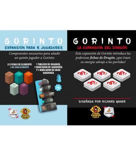Gorinto: Pack Dragón + Expansión para 5 Jugadores