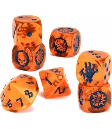 Blood Bowl: Shambling Undead Team Dice Set