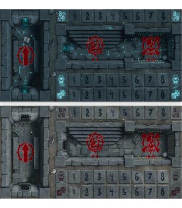 Blood Bowl: Shambling Undead Pitch Double-Sided Pitch and Dugouts