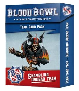 Blood Bowl: Shambling Undead Team (Card Pack)