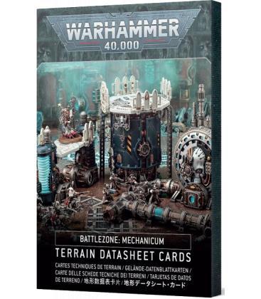 Warhammer 40,000: Mechanicum (Tarjetas de Datos de Terreno)(Inglés)