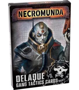 Necromunda: Delaque Gang Tactics Cards (Inglés)