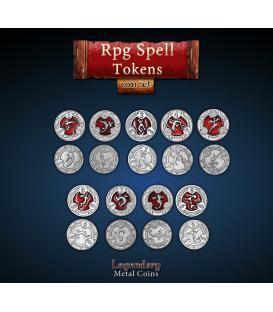 Legendary Metal Coins: RPG Spell Tokens (22)