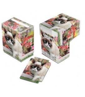 Grumpy Cat Flowers Full-View Deck Box