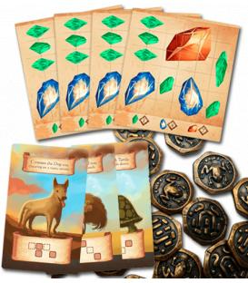 Roam: Pack Monedas Metálicas + Mapas de Gemas + Animales Promocionales