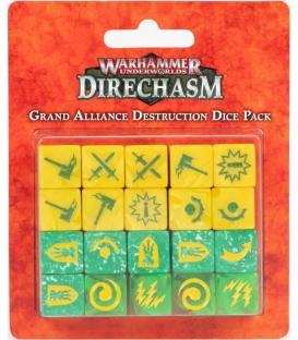 Warhammer Underworlds Direchasm: Grand Alliance Destruction (Dice Pack)