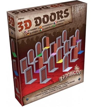 Zombicide Black Plague: 3D Doors Pack