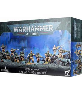 Warhammer 40,000: Astra Militarum (Cadian Shock Troops)