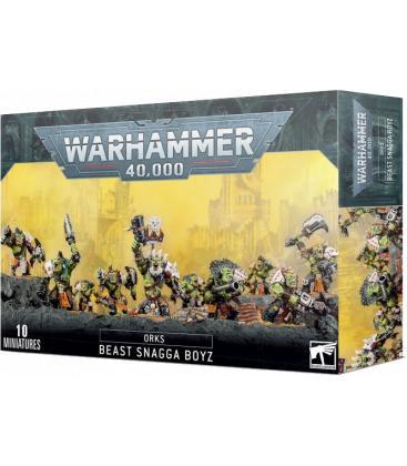 Warhammer 40,000: Orks (Beast Snagga Boyz)