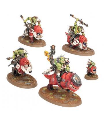Warhammer 40,000: Orks (Squighog Boyz)