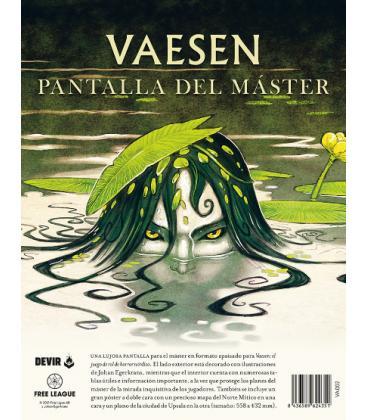 Vaesen: Pantalla del Director de Juego