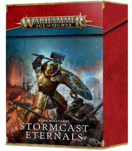 Warhammer Age of Sigmar: Stormcast Eternals (Tarjetas de Datos)