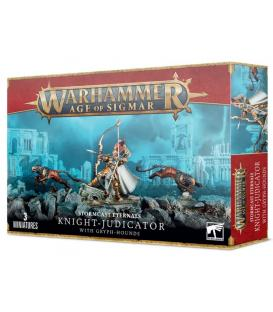 Warhammer Age of Sigmar: Stormcast Eternals (Knight-Judicator with Gryph-Hounds)