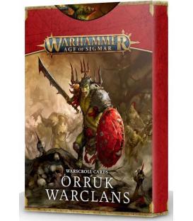 Warhammer Age of Sigmar: Orruk Warclans (Tarjetas de Datos)