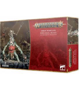 Warhammer Age of Sigmar: Orruk Warclans (Breakka-Boss on Mirebrutte Troggoth)