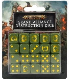 Warhammer Age of Sigmar: Grand Alliance Destruction (Dados)