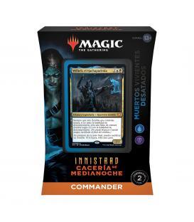 Magic the Gathering: Innistrad - Cacería de Medianoche - Mazo Commander (Muertos Vivientes Devastados)