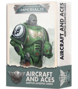 Aeronautica Imperialis: Aircraft and Aces (Adeptus Astartes Cards)(Inglés)
