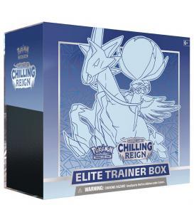 Pokemon: Espada y Escudo - Reinado Escalofriante (Caja de Entrenador Élite - Calyrex Jinete Glacial)