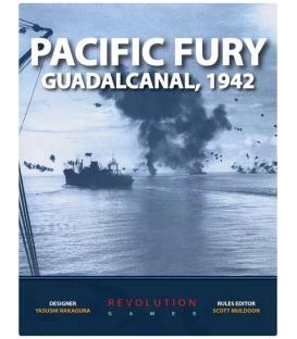 Pacific Fury: Guadalcanal, 1942 (Inglés)