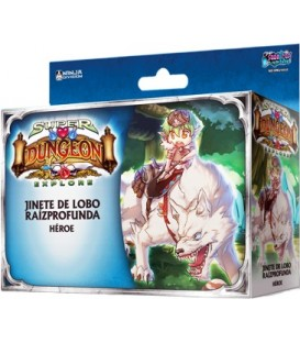 Super Dungeon Explore: Jinete de Lobo Raízprofunda