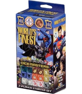 Dice Masters: World's Finest - Set de Inicio (Inglés)