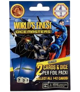 Dice Masters: World's Finest - Sobre (Inglés)