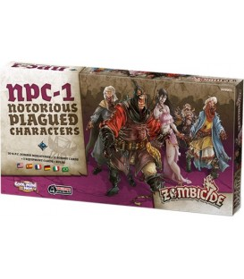 Zombicide Black Plague: Notorious Plagued Characters 1
